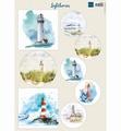 Marianne Design Knipvel Lighthouses VK9589