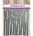 Nellie Snellen 3D Embossing Folder Trees EF3D013