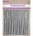 Nellie Snellen 3D Embossing Folder Trees EF3D013
