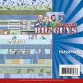 Yvonne Creations Paperpack Big Guys Workers YCPP10032