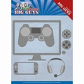 Yvonne Creations Die Big Guys - It's Game Time YCD10205