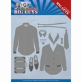 Yvonne Creations Die Big Guys - Dressed to Impress YCD10204