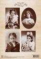 Nellie Snellen Knipvel Vintage Girl NEVI044 per vel