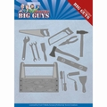 Yvonne Creations Die Big Guys - Handy Man Tools YCD10203