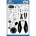 Yvonne Creations Stempel Big Guys Workers YCCS10058