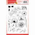 Precious Marieke Clear Stamp Delicate Flowers PMCS10044