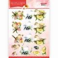 Precious Marieke knipvel Delicate Flowers - Birds CD11491