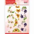 Precious Marieke knipvel Delicate Flowers - Orchid CD11488