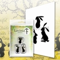 Lavinia Clear Stamp Wild Hares Set Small LAV614