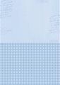 Nellie Snellen Achtergrondvel Blue Stripes NEVA014*