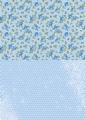 Nellie Snellen Achtergrondvel Blue Roses NEVA013*