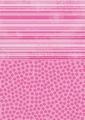Nellie Snellen Achtergrondvel Pink Flowers NEVA010*