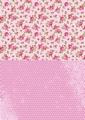 Nellie Snellen Achtergrondvel Pink Roses NEVA008*