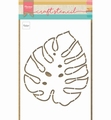 Marianne Design Stencil Monstera Leaf PS8066