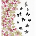 Card-io Majestix Clear Stamp Bijou Blooms CDMABIJ-01