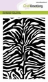 Craft Emotions Clear Stamp Tiger-Zebra Print 130501/1313