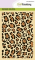 Craft Emotions Clear Stamp Panther Print 130501/1312