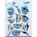 Amy Design knipvel Underwater World - Big Animals CD11499