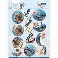 Amy Design knipvel Underwater World - Diving CD11496