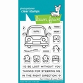 Lawn Fawn Clear Stamp Car Critters LF2338