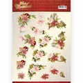 Precious Marieke knipvel Touch Of - Pink Flowers CD11504