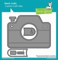 Lawn Fawn Snijmal Magic Iris Camera Add-On LF2344