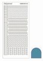 Hobbydots Sticker - Mirror - Turquoise STDM16D