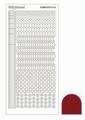 Hobbydots Sticker - Mirror - Red STDM164  per vel
