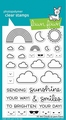 Lawn Fawn Clear Stamp All The Clouds LF2331