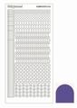Hobbydots Sticker - Mirror - Violet STDM166