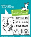 Lawn Fawn Clear Stamp Litte Dragon LF2323