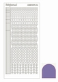 Hobbydots Sticker - Mirror - Purple STDM169