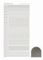 Hobbydots Sticker - Mirror - Silver STDM158
