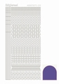 Hobbydots Sticker - Mirror - Violet STDM156