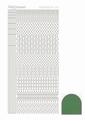 Hobbydots Sticker - Mirror - Green STDM152