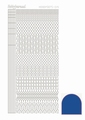 Hobbydots Sticker - Mirror - Blue STDM15A