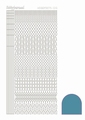 Hobbydots Sticker - Mirror - Turquoise STDM15D