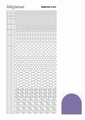 Hobbydots Sticker - Mirror - Purple STDM149 per vel