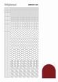 Hobbydots Sticker - Mirror - Red STDM144