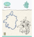 Nellie Snellen Stamps & Dies Flowers - Lily HDCS005