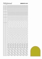 Hobbydots Sticker - Mirror - Yellow STDM14E