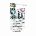 Ink On 3 Clear Stamp Raccoon Hugs IO3987678A