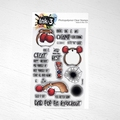 Ink On 3 Clear Stamp Knockout Nibbles IO3040390