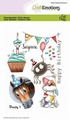 Craft Emotions Clear Stamp Party 1   130501/1689