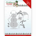 Yvonne Creations Die Village - Build Up Snowman YCD10208