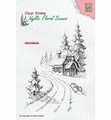 Nellie Snellen Clear Stamp Wintery House IFS023