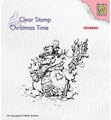 Nellie Snellen Clear Stamp Snowman CT034