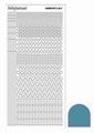 Hobbydots Sticker - Mirror - Turquoise STDM13D