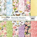Scrapboys Papierblok Butterfly Meadow BUME-09