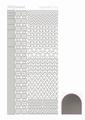 Hobbydots Sticker - Mirror - Silver STDM128 per vel